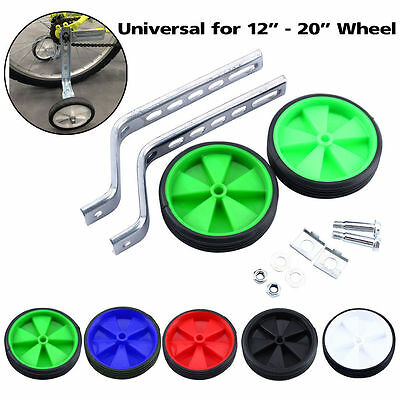 "Bike Cycle Bicycle Children Kids Stabilisers Training Wheels 12- 20"" Easy Fit UK"