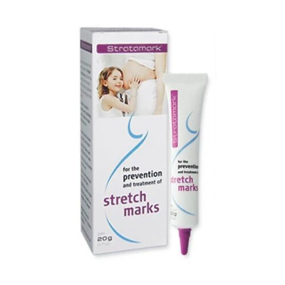 Stratamark - 20g Gel Prevention Treatment of Stretchmarks Post Pregnancy Scar