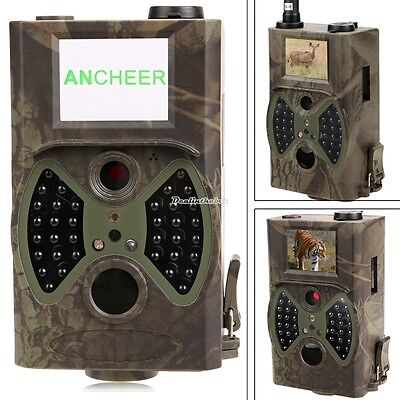 GSM MMS IR HC-300A HD Wildlife Hunting Scouting Camera Infrared Trail Traps D0X8
