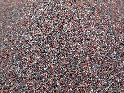 24KG Garnet Blasting Media #80 for Rust Removal,Blast Cleaning,Paint Stripping