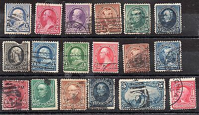 US 19th Century mixed condition collection to 30c WS982