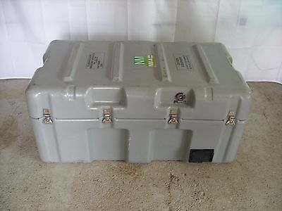 British Army - Military - Hardigg Transport Flight Storage Case Box Stackable