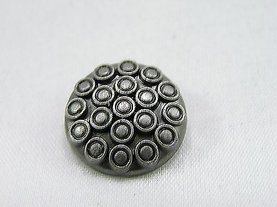 Punk Rivets Lotus Seedpod Antique silver 17mm suit bags, belts, hats, collars
