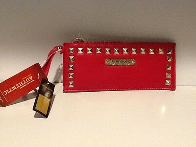 Hard Rock Cafe Red Studded Wallet New w/tags
