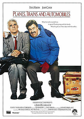 Planes, Trains and Automobiles (1987) - A1/A2 Poster *BUY ANY 2 AND GET 1 FREE*