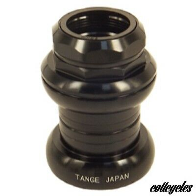 "NEW Tange Seiki falcon headset FL250C 1"" threaded Headset alloy Black new in box"