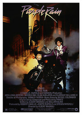 Purple Rain (1984) - A1/A2 POSTER **BUY ANY 2 AND GET 1 FREE OFFER**