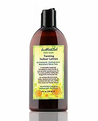 Tanning Indoor Lotion - Accelerates, Extends & Maintain by Just Natural Products