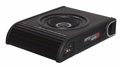 VIBE LiteAir Optisound Auto 8 compact car subwoofer Underseat Slim Inc Grille