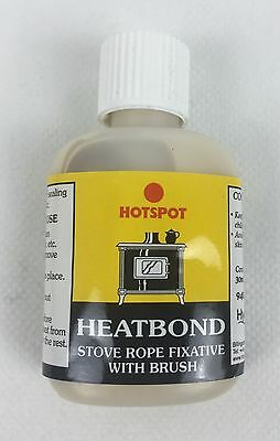 Hotspot Heatbond With Brush Applicator - Fixative Adhesive Glue For Stove Rope