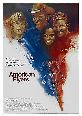 American Flyers (1985) - A1/A2 POSTER **BUY ANY 2 AND GET 1 FREE OFFER**