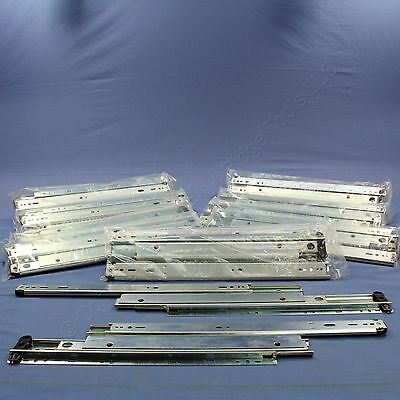 """10 PAIR 16"""" Side Mount 150-lb Capacity Full Extension Soft Close Drawer Slides"""
