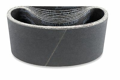 100mm x 915mm Alox/Zirconia/Silicon abrasive sanding belts. Price per 3 belts