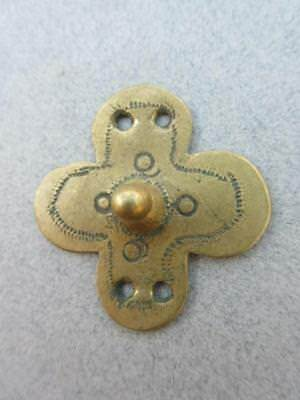 Old African Brass Pendant [65422]