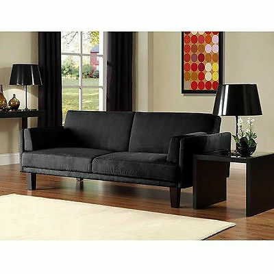 Convertible Futon Sofa Bed Couch Full Size Mattress Living Room