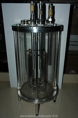 12 L Stainless Steel & Glass Bioreactor Reactor Fermentation Vessel