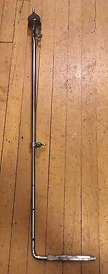 Vintage 60's Ludwig Bass Drum Cymbal L Arm