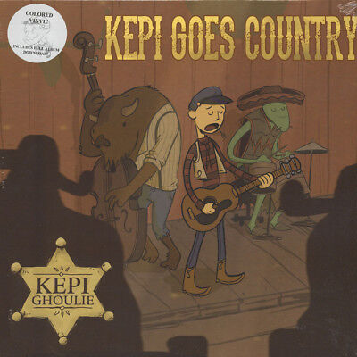 Kepi Ghoulie - Kepi Goes Country Colored Vinyl  (LP - 2015 - US - Original)