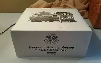 Dept 56 Dickens Village THE OLD CURIOSITY SHOP 5905-6 w/ box Combine Shipping!