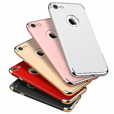 For iPhone 7 & 7 Plus Luxury Ultra-thin Shockproof Armor Back Case Cover Skin