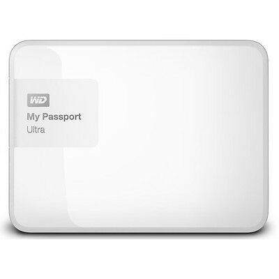 "Western Digital WD My Passport Ultra 3TB 2.5"" Portable External Hard Drive White"