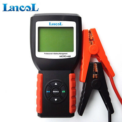 MICRO-468 12V Digital Car Battery Load Tester same function as BST-460