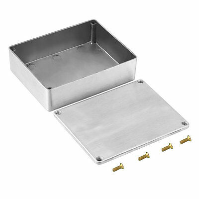 Antirust 1590BB Style Aluminum Stomp Box Effects Pedal Enclosure For Guitar MXT