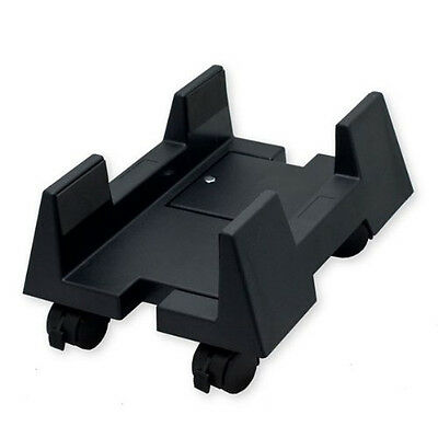 Sunny Cpu Stand for Atx Plastic Case, Adjustable Width, Black