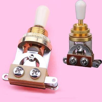 Gold Guitar TOGGLE SWITCH FOR GIBSON Les Paul IVORY Tip
