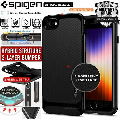 iPhone 8 Plus/8, 7 Plus/7 Case, Genuine SPIGEN Neo Hybrid Bumper Cover for Apple