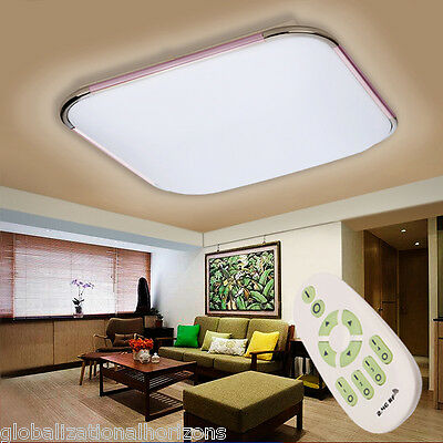 36W LED Ceiling Light Downlight Dimmable Kitchen Living Room Lamp Remote Control