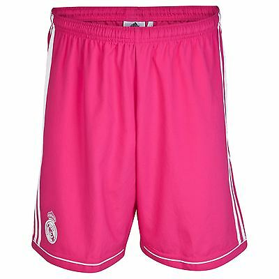 adidas Childrens Kids Football Soccer Real Madrid Away Shorts Bottoms 2014-15