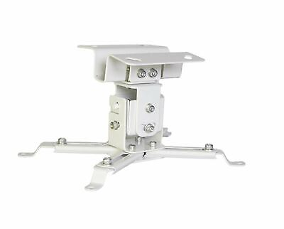 Luxburg® Universal Projector Aluminium Ceiling Mounted Bracket kit -  White