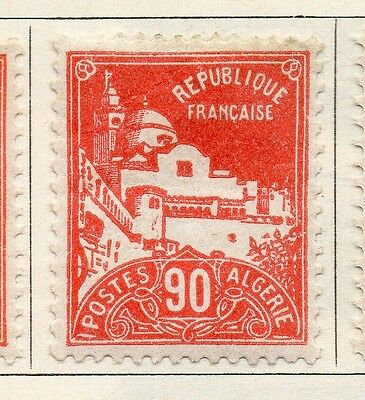 Algeria 1926-27 Early Issue Fine Mint Hinged 90c. 087302