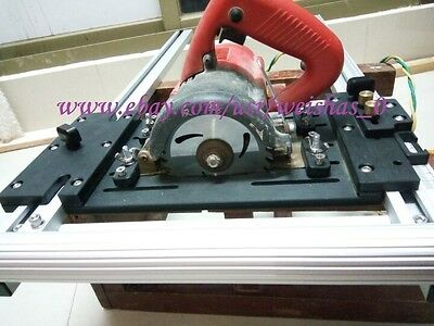 """wood panel board cutting supporting tools for 4"""" marble saw cutting machine"""