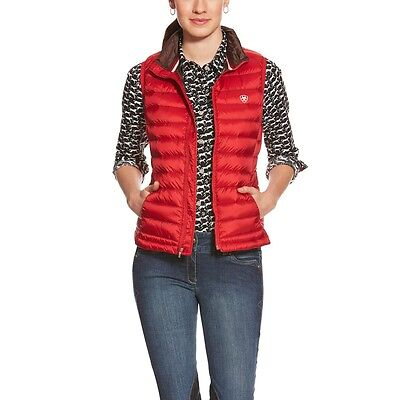 Ariat Ideal Down Riding Vest - Ladies - RED - SALE!!