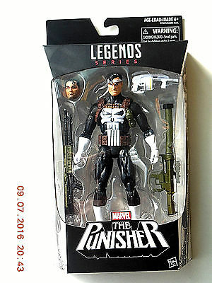 Hasbro Marvel Legends Walgreens Exclusive Punisher Action Figure! Unopened