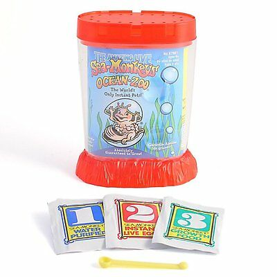 Sea Monkey Ocean Zoo - 1 supplied colours will vary - Brand New
