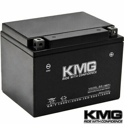 12 Volt Sealed Maintenace Free Performance Powersport Battery by KMG - YIX30L-BS