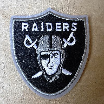 🔥 OAKLAND RAIDERS Football Team Logo Iron-on Jersey/Sweater PATCH Raider Nation