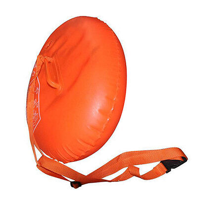 Sports Safety Swim Device Upset Inflated Buoy Flotation For Pool Open Water