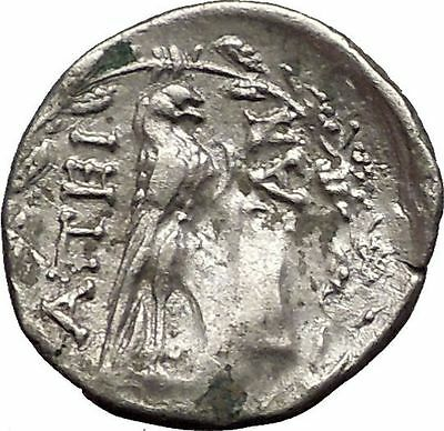 EPEIROTE REPUBLIC in EPIRUS 234BC Zeus Eagle Ancient Greek Silver Coin i57614