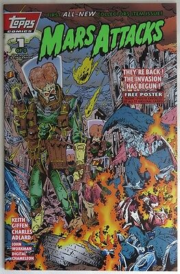 1994 Mars Attacks #1  -  Nm                      (Inv12018)