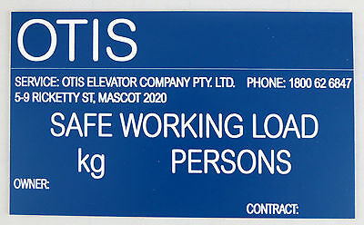 Personalised Laser Engraved Safety Sign Tag Plaque Plate 175Mm X 115Mm