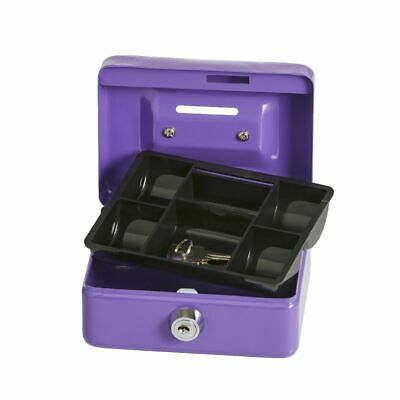 Mini Cash Money Box Purple