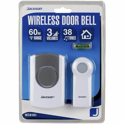 Jackson Wireless Welcome Doorbell Chime Kit