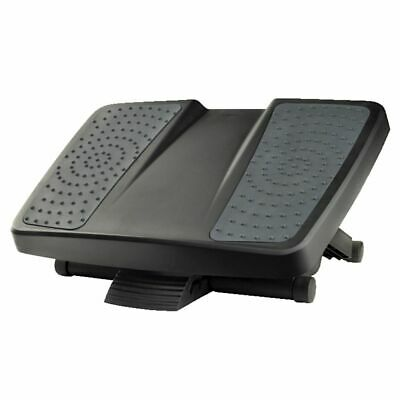 NEW Fellowes Professional Ultimate Footrest Black