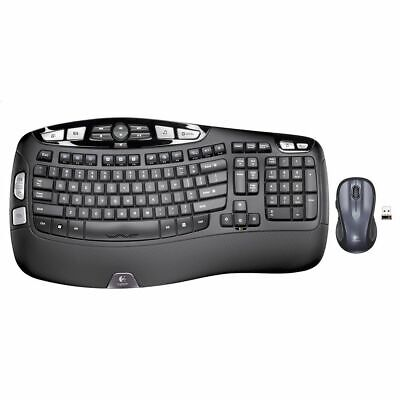 NEW Logitech Tubeclip Wave Keyboard and Mouse Combo MK550