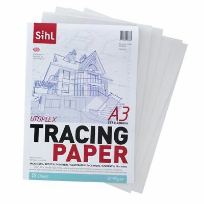 SIHL A3 Tracing Paper Pad 90gsm