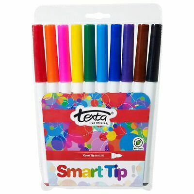 Texta Smarttip Markers Assorted Colours 10 Pack